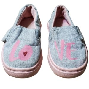 Tom's Love Toddler Girls Shoes